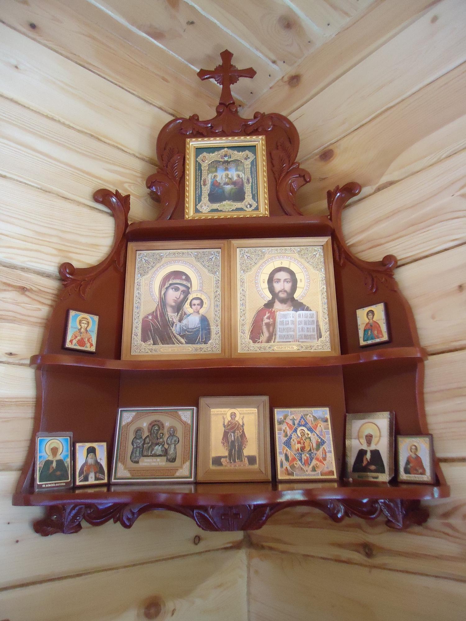 Как сделать иконостас дома своими руками фото 9